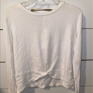 Long sleeve TopShop white shirt, Medium